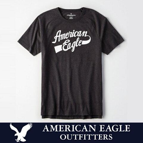 アメリカンイーグル 半袖 Tシャツ USAモデル メンズ AE American Eagle 正規品 ae1953 ダークグレー