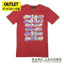 マークジェイコブス メンズTシャツ MARC BY MARC JACOBS アウトレット デッドストック品 mj15 バーガンディ