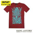 マークジェイコブス メンズTシャツ MARC BY MARC JACOBS アウトレット デッドストック品 mj04 バーガンディ