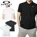 ショッピングオークリー オークリー スポーツ ポロシャツ 速乾 吸汗 OAKLEY ENHANCE POLO ホワイト ブラック 白 黒 oa257 XL 大きいサイズあり