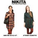 【NIKITA】ニキ−タ Charleston Dress レディースワンピース チェック柄チュニック/長袖ワンピ/ネルシャツ/XS・S・M・L(日本のS-XLくらい)2カラー【あす