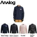 【ANALOG】アナログ 2018-2019 Men 039 s Analog Sparkwave Jacket メンズ スノージャケット スノーウェア コーチジャケット アウター スノーボード S M L XL 4カラー【あす楽対応】