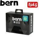 【BERN】KIDS INNER SET ヘルメットインナー キッズ専用/XS-S,S-M/ブラック 子供用【あす楽対応】
