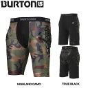 【定番アイテム】【BURTON】バートン Mens Burton Total Impact Short メンズ プロテクター スノーボード 防護服 ウェア 2カラー S・M・L・XL【あす楽対応】【BURTON JAPAN正規品】