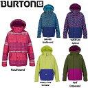 【BURTON】バートン2015-2016/Girls Echo Jk キッズジャケット スノーボードウェア ガールズ ユース ウエア/5カラー【BURTON ...