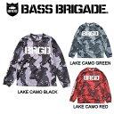ショッピングベース 【BASS BRIGADE】バスブリゲード 2019春夏 LAKE CAMO UV CUT L/S TEE メンズ ロングスリーブTシャツ ロンT アウトドア フィッシング 釣り 3カラー S・M・L・XL