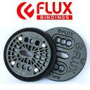 【FLUX BINDING 】フラック ビンディング バートンEST板用 2ホール ディスク プレー