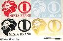 NESTA BRAND横ステッカー大サイズ/16×25cm黒、赤、金、白/スノボー ネスタブランド【あす楽対応】