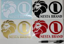 NESTA BRAND横ステッカー中サイズ 10.7×17cm/黒 赤 金 白/スノボー ネスタブランド【あす楽対応】