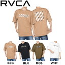 【RVCA】ルーカ 2020春夏 RVCA メンズ HAZARD RVCA SS Tシャツ 半袖 スケートボード サーフィン トップス S / M / L 4カラー【あす楽対応】