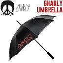 【GNARLY】ナーリー2016秋冬 UMBRELLA 傘【あす楽対応】