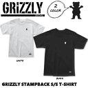 ショッピングボード 【GRIZZLY】グリズリー STAMPBACK S/S T-SHIRT メンズ Tシャツ ショートスリーブ 半袖 スケートボード sk8 skateboard M-L 2カラー【あす楽対応】
