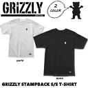 【GRIZZLY】グリズリー STAMPBACK S/S T-SHIRT メンズ Tシャツ ショートスリーブ 半袖 スケートボード sk8 skateboard M-L 2カラー【あす楽対応】