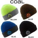 【Coal】コール 2013-2014 THE COMPANY BEANIE メンズ・レディース リブ ワッフル ビーニー 折り返し ニット帽 /4カラー【あす楽対応】 align=
