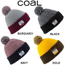 【Coal】コール 2013-2014 THE STANWOOD BEANIE メンズ・レディース ポンポン付 リブ ビーニー 折り返し ニット帽 /4カラー【あす楽対応】 align=