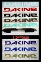 【DAKINE】ダカインロゴカッティングステッカー小★約1....