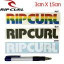 【RIP CURL】リップカール カッティングステッカー/3カラー【あす楽対応】