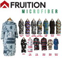 【FRUITION】フリュージョン マイクロポンチョ 着替え用 サーフィン 9カラー【あす楽対応】
