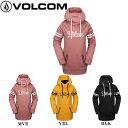 【VOLCOM】ボルコム 2019-2020 Spring Shred Hoody フーデッド プルオーバー パーカー 長袖 レディース スノーボード インナー スノボー ウィンター XS・S・M・L・XL 3カラー【あす楽対応】