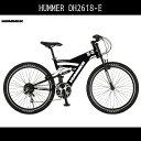 【送料無料 マウンテンバイク ハマー HUMMER 自転車】...