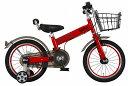 兒童用腳踏車 - MINI KIDS BIKE16 2016モデル 子供用自転車 チリレッド 赤 ミニ 適正身長101〜119cm BMW 子供車 補助輪付き かご付き 16インチキッズ 自転車 ジュニア 通販 おしゃれ