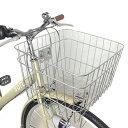 自転車なフレームが人気 sora ソラ シティサイクル クリーム ベージュ アイボリー 通勤 通学に最適なママチャリ 27インチ シティ車 外装6段変速 6段ギア オートライト デザインVフレーム自転車なママチャリ ギア付 激安 格安 通販 おしゃれ