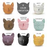 【ラタン猫ロール〜可愛いネコの形のロールティッシュケース/ねこロール/ネコロール】