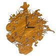 [送料無料] 木製 ウォールロック AFRICAS アフリカ 動物 アニマル 時計 掛け時計 新築祝いに♪ M39M【RCP】02P29Jul16