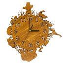 [送料無料] 木製 ウォールロック AFRICAS アフリカ 動物 アニマル 時計 掛け時計 新築祝いに♪ M39M【RCP】02P27May16