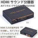 メール便等送料無料 HDMI 音声分離器 光デジタル対応2ch、5.1ch切り替え HDMI2HDMI 高品質版 (メ1) M39M
