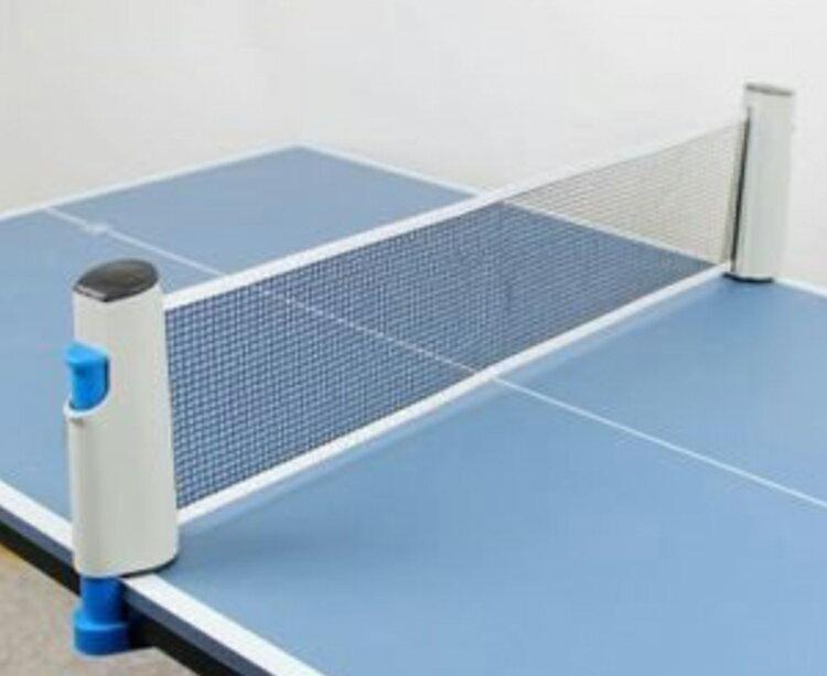 ポータブル卓球用ネットネットを張るだけで簡易卓球台が完成ピンポン/卓上/旅館の気分/お正月/屋内/リ