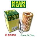 【お買い得2個セット】MANN FILTER マンフィルター HU719/6x VW GOLF5 2.0FSI GTI AOPOF034