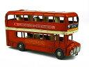 『ブリキのおもちゃ』 アンティーク調 ノスタルジックカー[自動車]ロンドンバス/London bus 西海岸 雑貨 西海岸風 【即納】