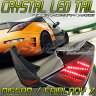 Z33 フェアレディZLEDテールランプUSタイプ Zラインモデルブラックタイプ