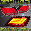 マークX GRX120ファイバーテール LEDテールレッドスモーク GRX121/125レイツ REIZ 78ワークス
