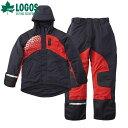 ロゴス/LOGOS LIPNER プロモデル 防水防寒スーツ ブラック サイズLL【送料無料】【2020】