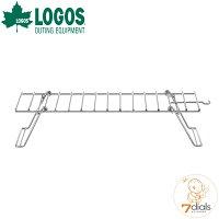 LOGOS/ロゴス ファイヤーラック XL 折り畳み式の耐熱ラック ピラミッドTAKIBIにセットすればケトルや小鍋でたき火調理ができますの画像