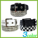 With all three colors of three three new work belt men pyramid studs belts ★ leather buckle belts for fashion! A leather belt is recommended in American casual system salon system★