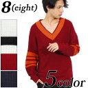 ニットセーター メンズ チルデン セーター【 】全5色