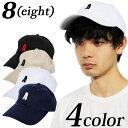 キャップ メンズ ロゴ 帽子 【 送料無料 】全4色 新作 キャップ ロゴ キャップ 帽子 コットン でお洒落に♪