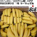 【送料無料】【フィリピン/エクアドル産】訳あり バナナ 大きさおまかせ 1箱 13〜15kg前後(北