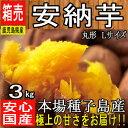 【鹿児島県 種子島産】あま〜い安納芋 3kg 安納さげ芋【丸...