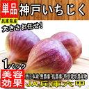 【兵庫県産】神戸いちじく 生 1パック 4〜8個 約500g...