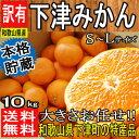 【和歌山県産】本格貯蔵 下津みかん S〜Lサイズ 約10kg...