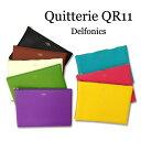 【ネコポス便対応可能商品】826-QR11-** ポーチ/キトリ<Quitterie> L(B5サイズ) デルフォニックス[DELFONICS]