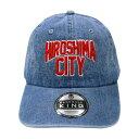 HIROSHIMA CITY デニムキャップ 広島 キャップ HIROSHIMA