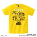 ショッピング野球 JURASSIC WORLD×阪神タイガース Tシャツ(恐竜着ぐるみ) 大人用