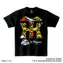 ショッピング野球 JURASSIC WORLD×阪神タイガース Tシャツ(ロゴ) 大人用