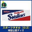 東京ヤクルトスワローズグッズ スポーツタオル(ロゴ)