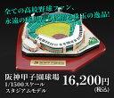 阪神甲子園球場1/1500スケールモデル